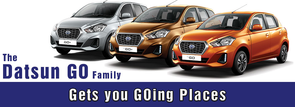The Datsun Go Model Range At Group 1